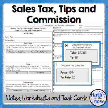 sales tax worksheet. Black Bedroom Furniture Sets. Home Design Ideas