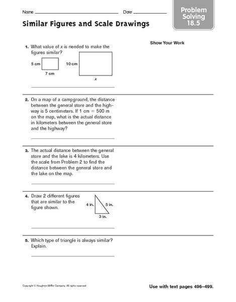 Scale Drawing Worksheet 7th Grade Snapshoot Scale Drawing Worksheet 7th Grade Problem Solving Similar Figures And