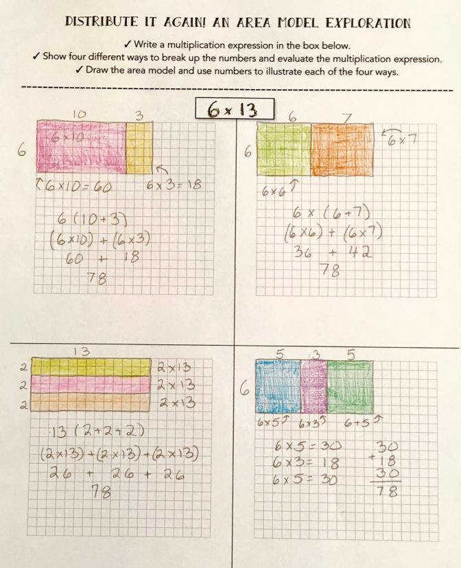 Teaching Multiplication With The Distributive Property Scholastic Worksheets 3rd Grade Img Multiplication Using Distributive Property Worksheets