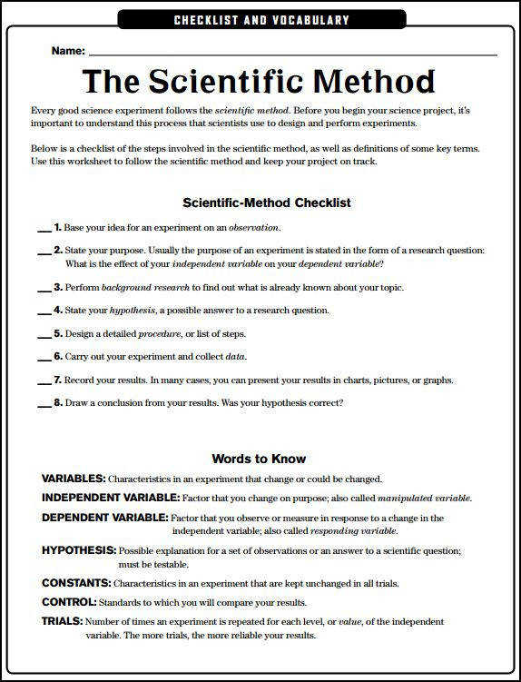Scientific method worksheets homeschooldressage mythbusters scientific method worksheet ibookread Read Online