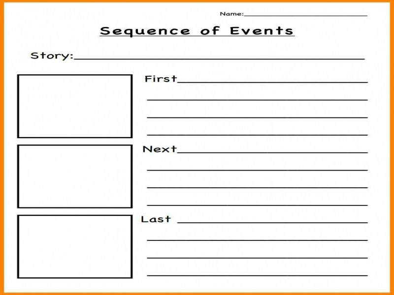 sequence of events worksheets. Black Bedroom Furniture Sets. Home Design Ideas