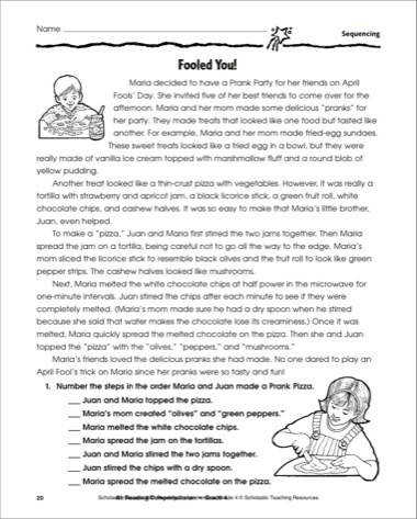sequence of events worksheets story sequence of events 2nd grade