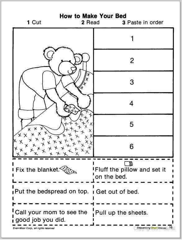 Free Story Sequencing Worksheets