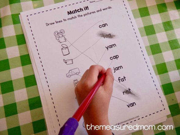 Download this free bundle of nine short a worksheets Great for review and reinforcement