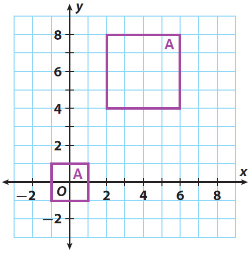 Similar figures worksheet Problems