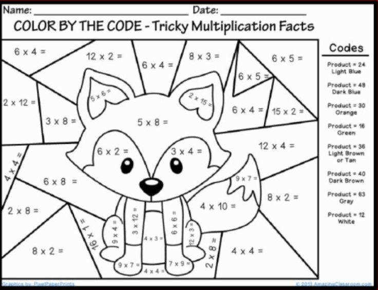Simple Coloring First Grade Math Worksheets With Coloring In Color Number Math Worksheets First Grade With Addition Worksheets