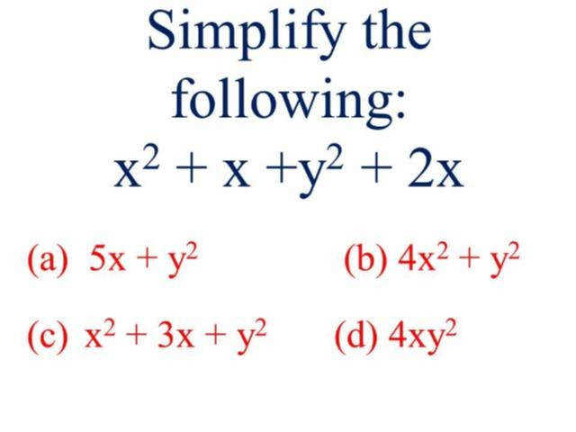 Simplifying and evaluating expressions worksheet answers