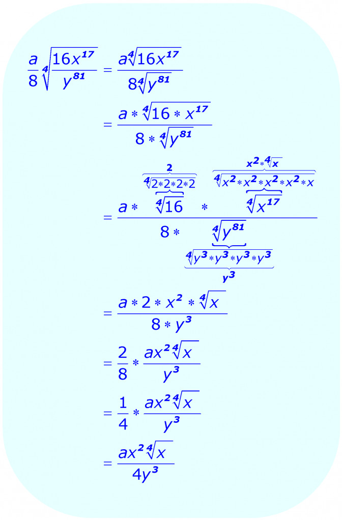 Simplifying Radicals Adding And Subtracting Multiplication Division Worksheets With Answers Math Rad Divid Multiplication And