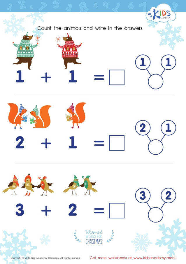Printable Singapore Math Worksheets Copyright © 2015 Kids Academy pany All rights reserved Get more worksheets at