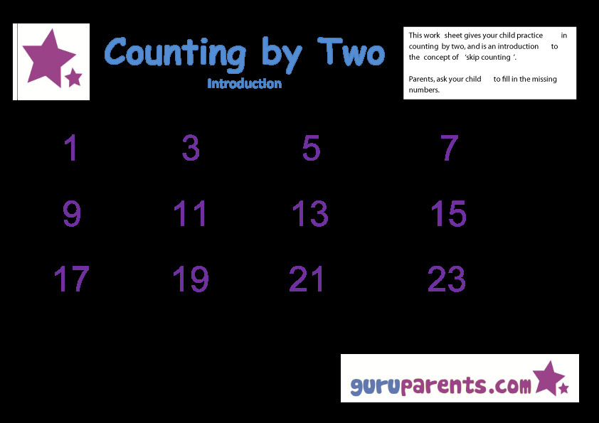 Skip Counting by two introduction
