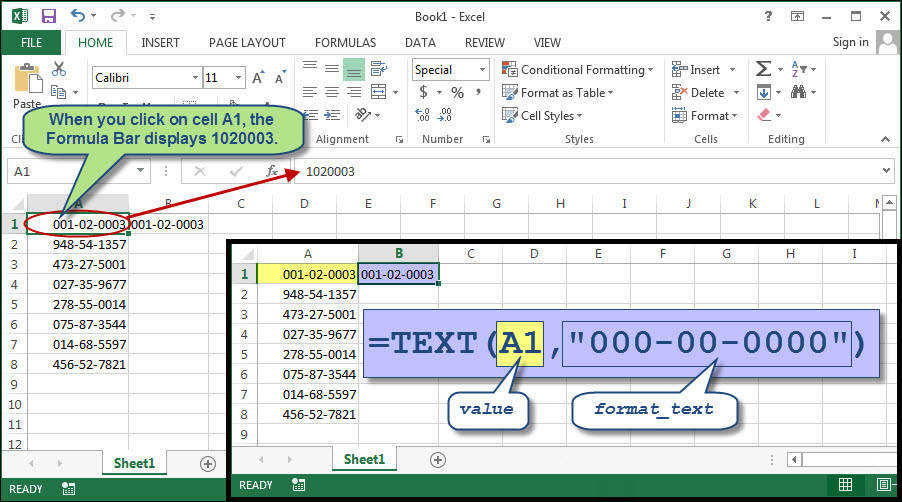 How to Get Excel to Handle Social Security Numbers Properly istock kitzcorner excel istock kitzcorner excel istock kitzcorner excel