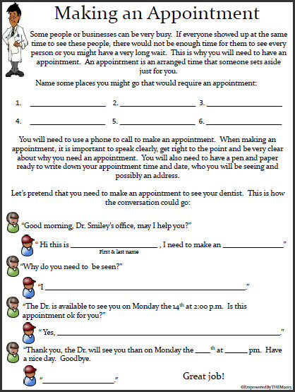 17 Social Skills Worksheets Special Education