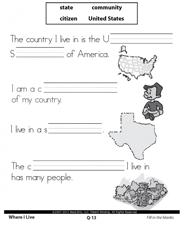 Free First Grade Science and Social Stu s Worksheets TLSBooks