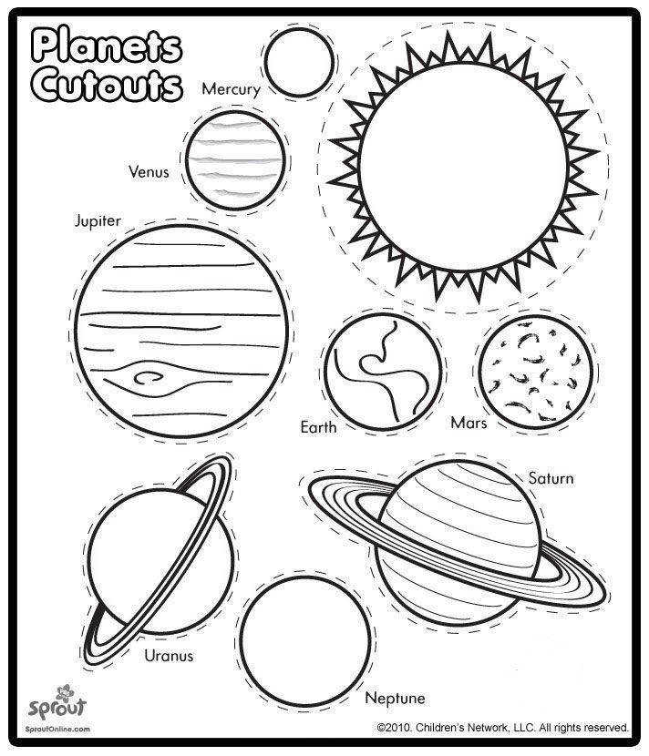 FREE Solar System Worksheets This site has a bunch of free worksheets to