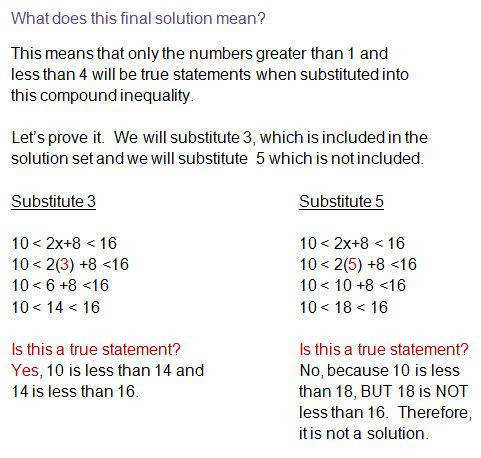 pound inequality example solving pound inequalities