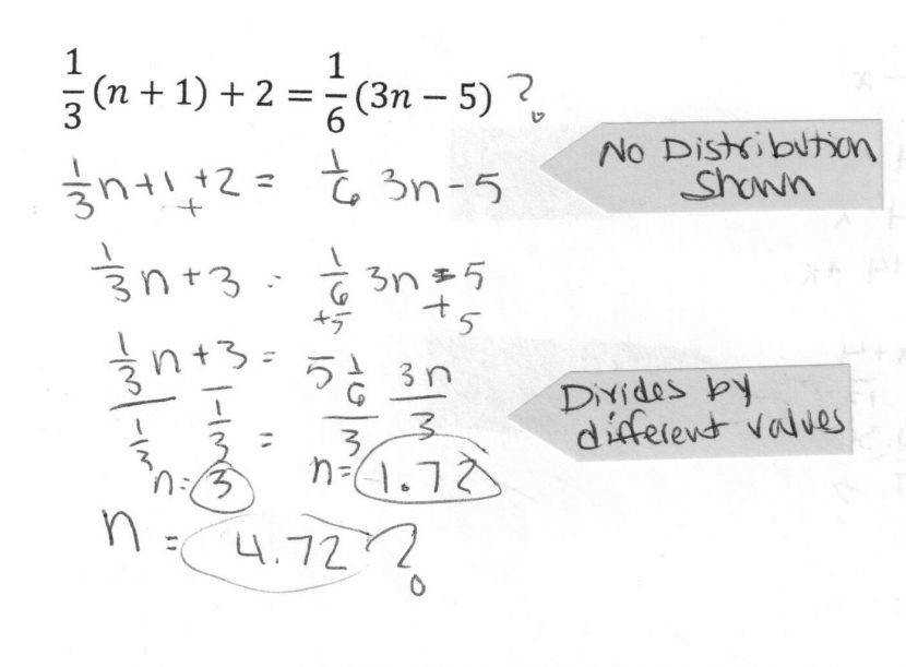 Solving Equations with Fractions Worksheet ...