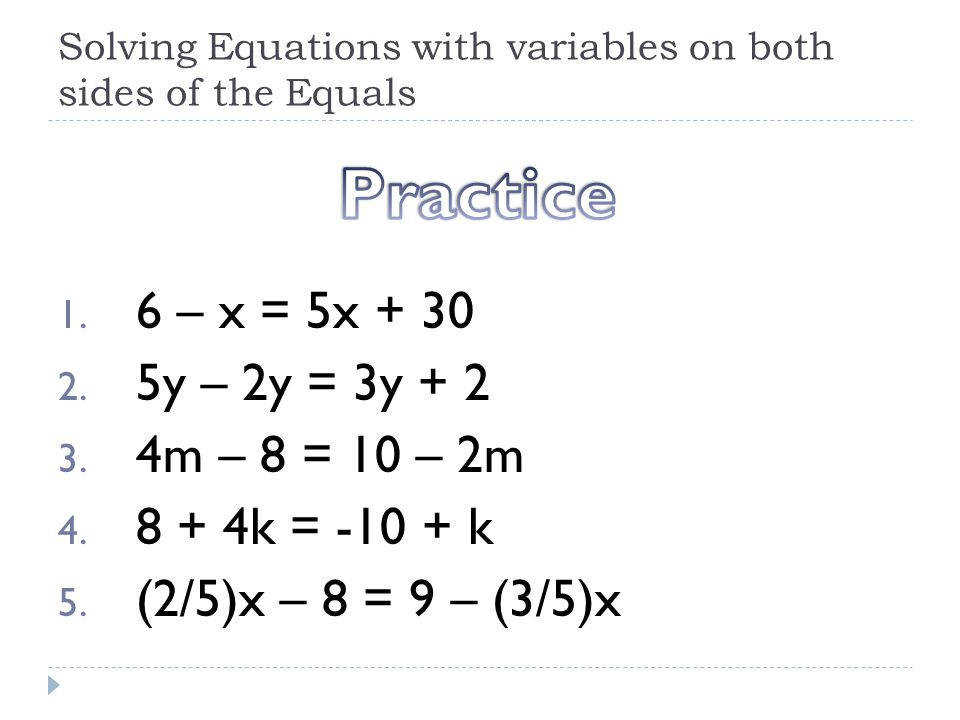 Free Worksheets Library Download And Print On. Variables On Both Sides Worksheet Messygracebook. Worksheet. Solving Equations With Variables On Both Sides Worksheets At Mspartners.co
