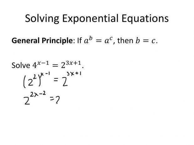 Solving Exponential Equations Worksheet Homeschooldressage