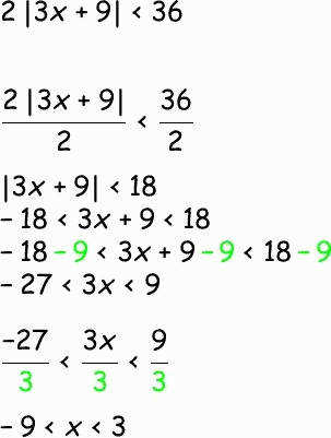 Absolute Value Equations Worksheet New solving Inequalities with Absolute Value From Math Planet