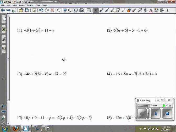 Solving Multi Step Equations Kuta Software Infinite Algebra 2 Worksheet 1 Maxresde Solving Multiple Step Equations