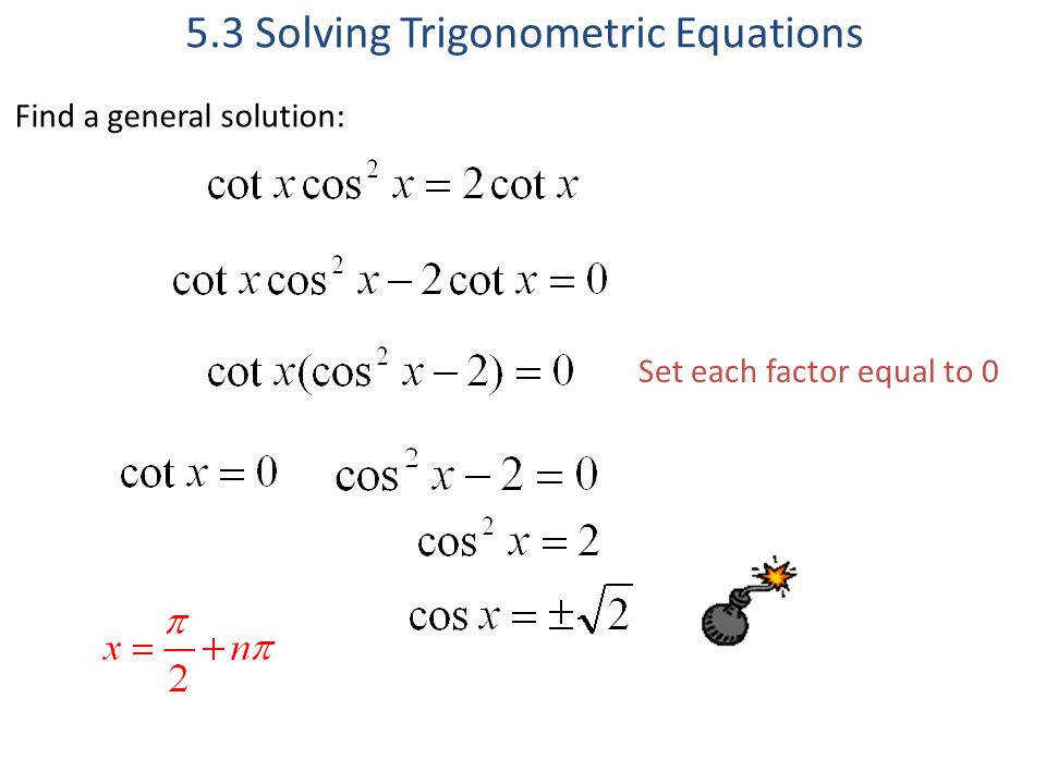 5 3 Solving Trig Equations Worksheet 2 Answers Tessshebaylo