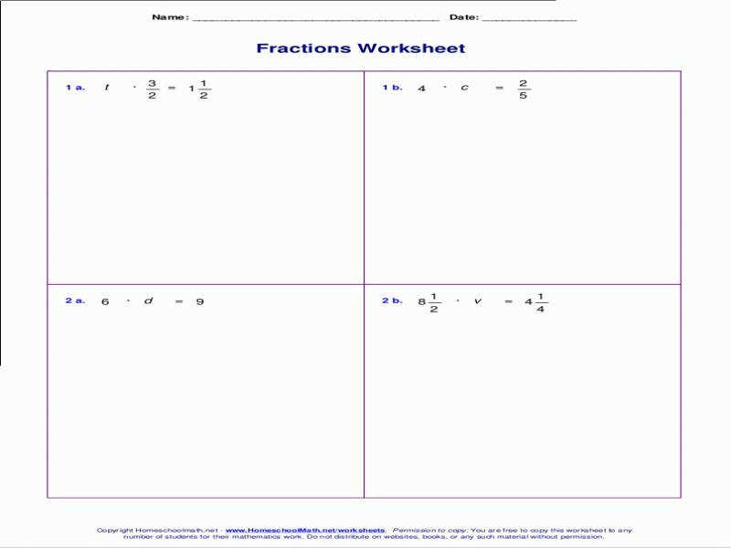 Solving Two Step Equations With Fractions Worksheet Pdf – Jennarocca