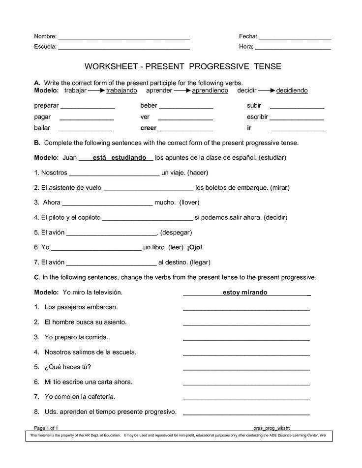 sta bilder om spanish worksheets p Pinterest