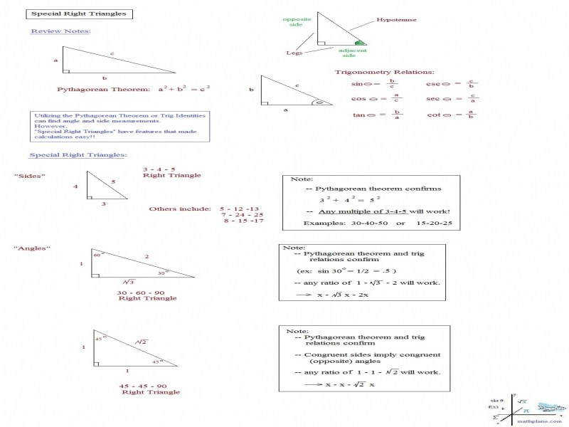 Right Triangle Trigonometry Worksheet With Answers Worksheets
