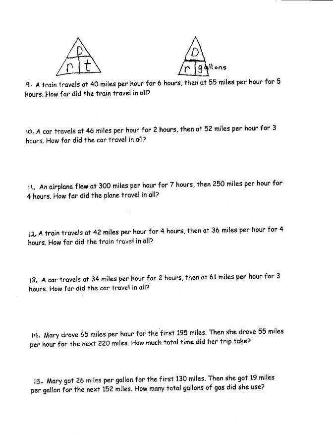 Maths Speed Distance Time Worksheets When A Graph Gcse Worksheet And Answers 2 Maths Speed Distance
