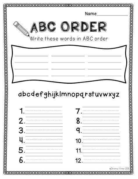 Elementary Worksheets for Fun Spelling Practice