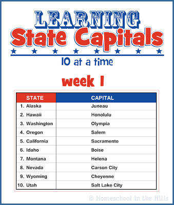 Learning State Capitals