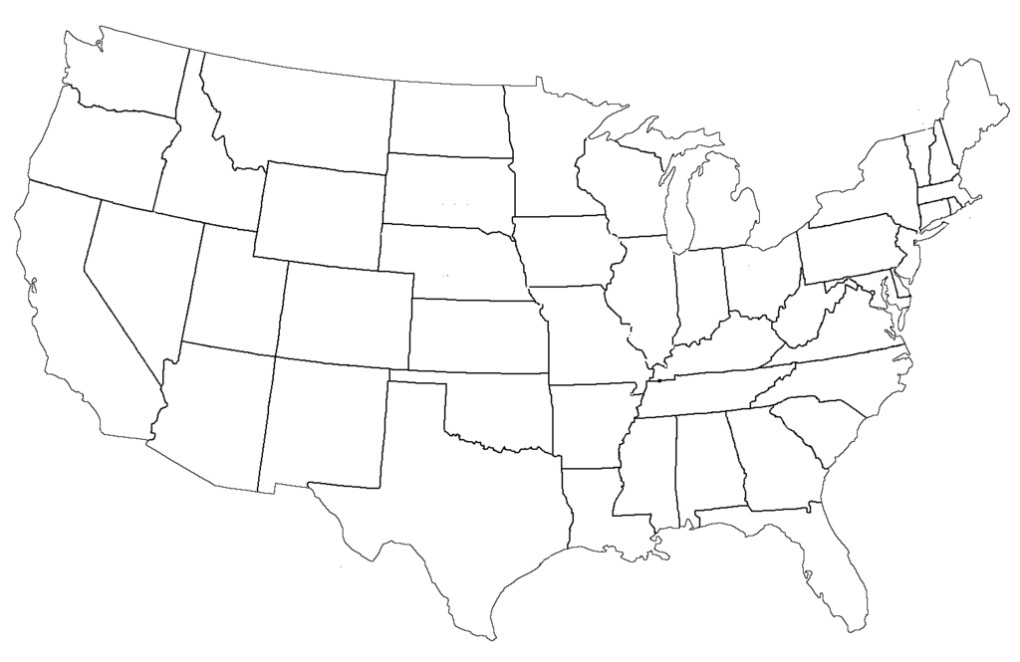 US states and capitals worksheets