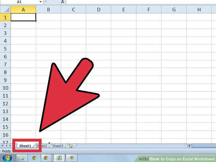 Image titled Copy an Excel Worksheet Step 4