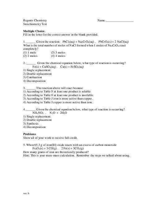 pages Stoichiometry Test midterm plan b pdf iTunes Apple