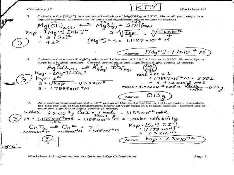 """9 photos of the """"Stoichiometry Worksheet With Answer Key"""""""