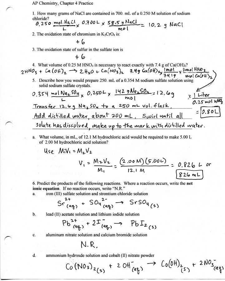 Stoichiometry Worksheet 1 Answers New Ap Chemistry Homework