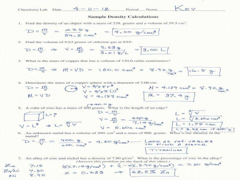 Stoichiometry Worksheet Answers Worksheets