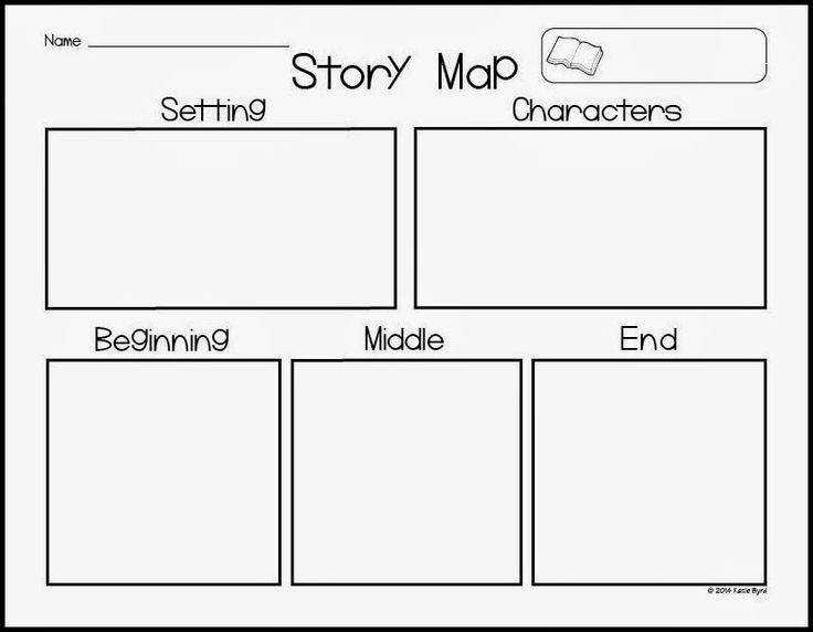 AMAZING freebie to use for story maps Perfect for Kindergarten to sketch their