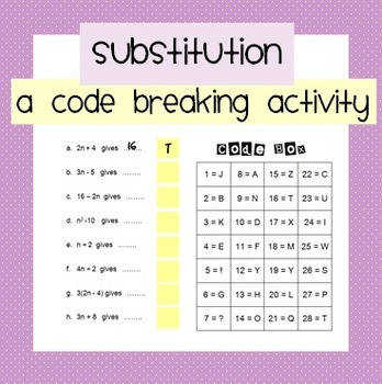 Substitution Code Breaker