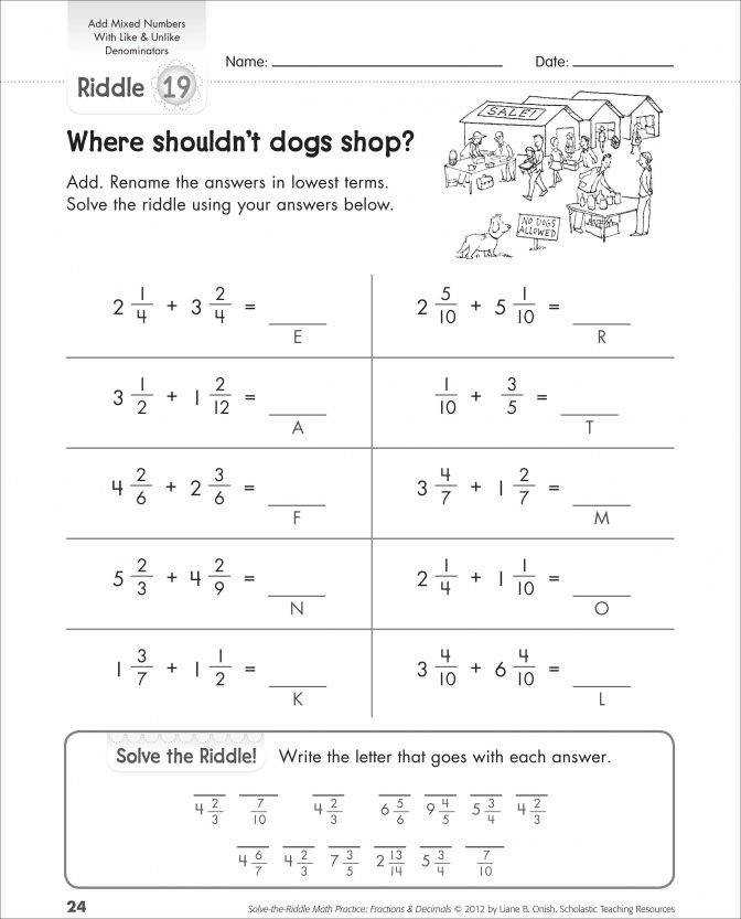 Subtracting Mixed Numbers With Unlike Denominators Worksheets Borrow Subtracting Mixed Numbers Worksheets Worksheet Medium