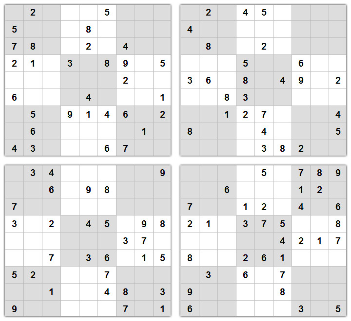 Download Printable Sudoku Puzzles 4