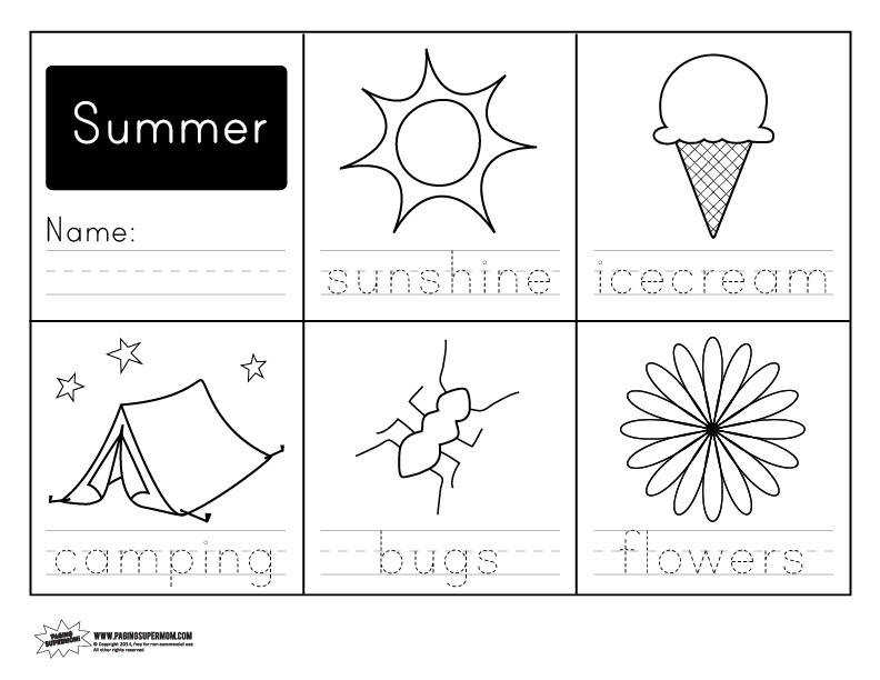 Ideas Collection Free Printable Summer Worksheets About Download Resume