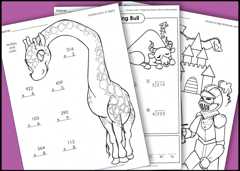 Image Gallery Super Teacher Worksheets Division With Decimals Stw Mul