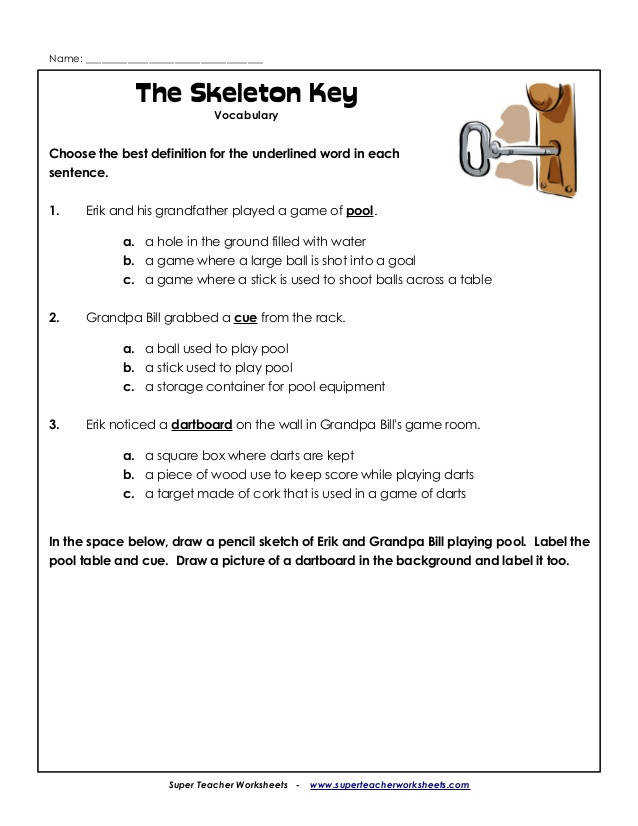 Super Teacher Worksheets 4