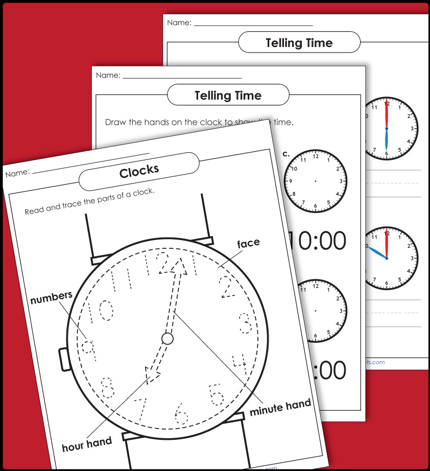 Time Clock Worksheets