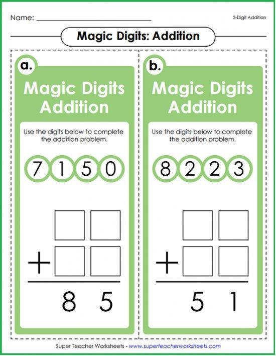 Your students will love Magic Digits math games Available for addition subtraction multiplication