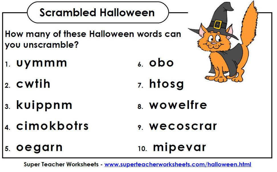 Puzzle how many halloween free teacher worksheets printables super subreddit 1hcbhfe