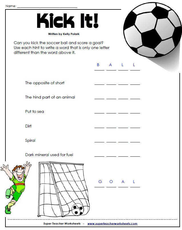 Worksheets page for the entire collection