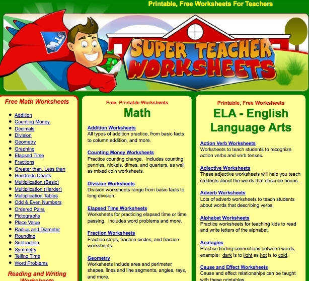 Papers Rehearsal Super Teacher Worksheets Free Login Super Teacher