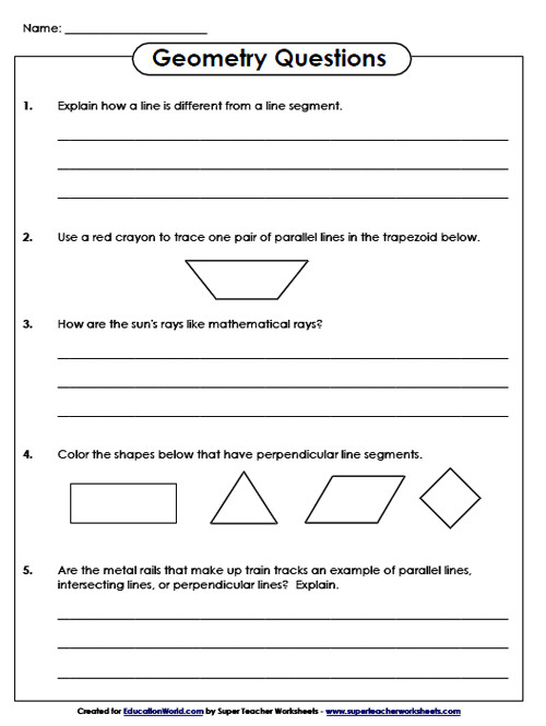 Awesome Collection of Super Teacher Worksheets Angles In Worksheet